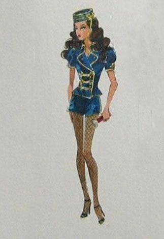 robert best silkstone barbie usherette artwork barbie drawing barbie room barbie collector barbie