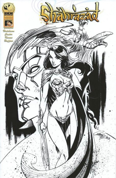 how to draw comic book style packed with luxury shahrazad issue 0d big dog ink of