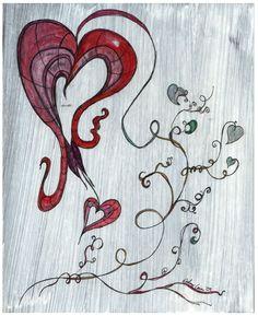 bleeding heart flower drawing bleeding drawings
