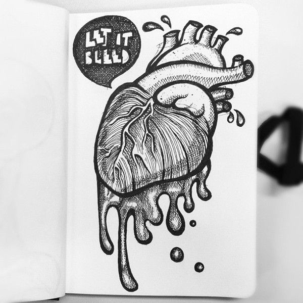 bleeding heart disease by rodrigo molina via behance sketch pinterest sketches bleeding hearts and heart disease