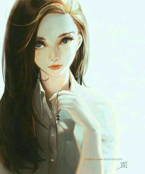 character art digital art girl arte digital beautiful girl drawing beautiful smile