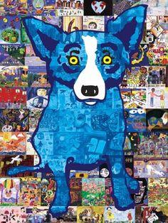 captcha blue dog