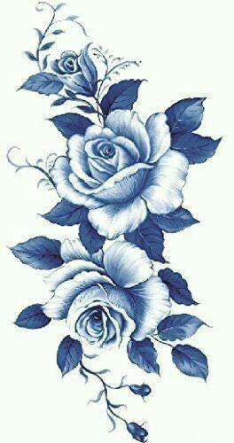blue roses white roses blue flowers blue and white dark blue