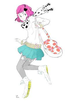 yuki kawatsu illustration character poses character design art poses illustration sketches