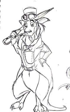 steampunk kangaroo aaron nicholas bautista