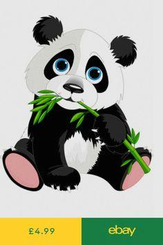 wall decals amp stickers home furniture amp diy ebay cute panda cartoon