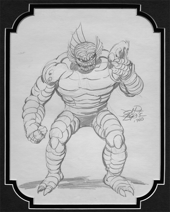 john byrne ch od pencil sketch comic art