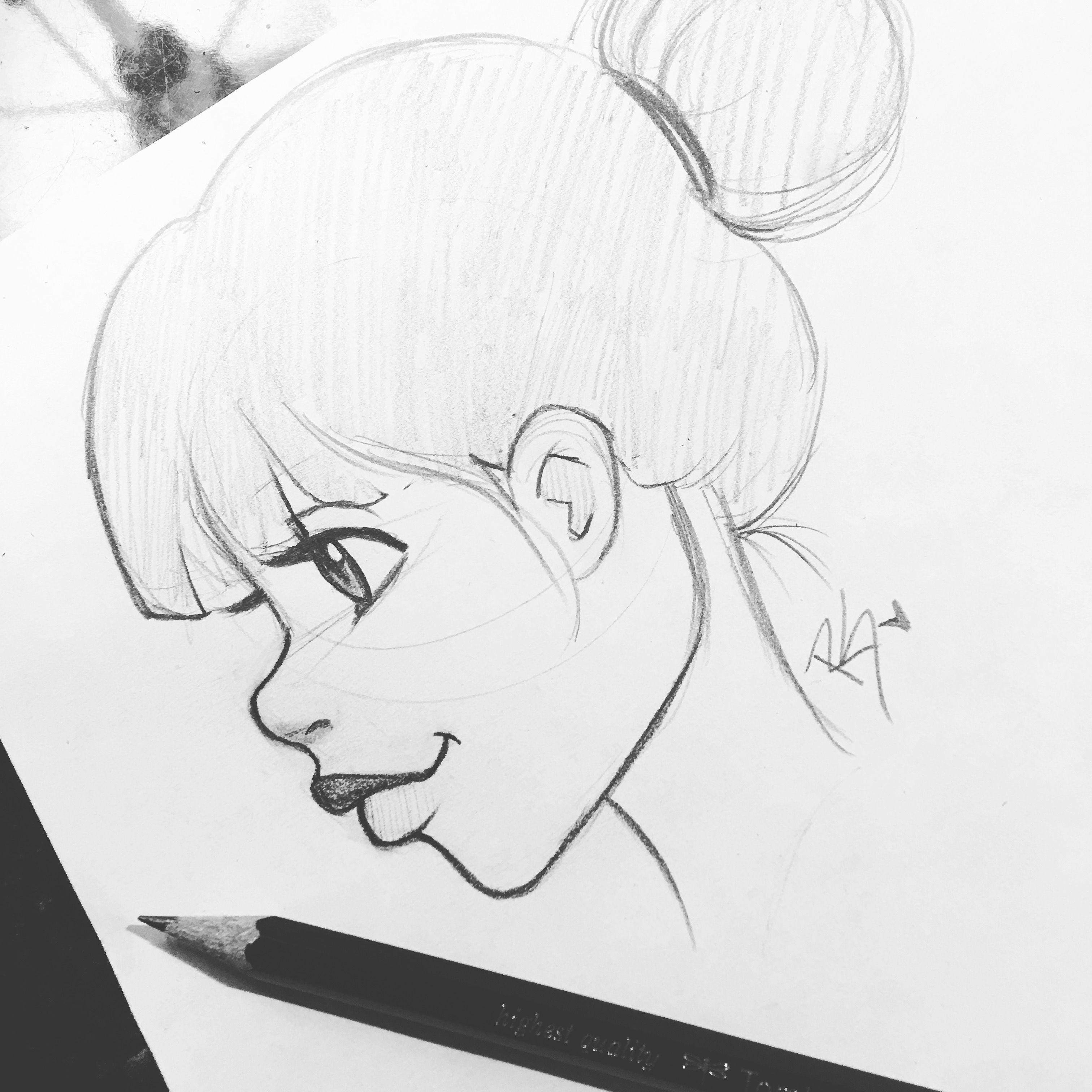 christina lorre easy drawings pretty drawings cartoon drawings manga drawing drawing