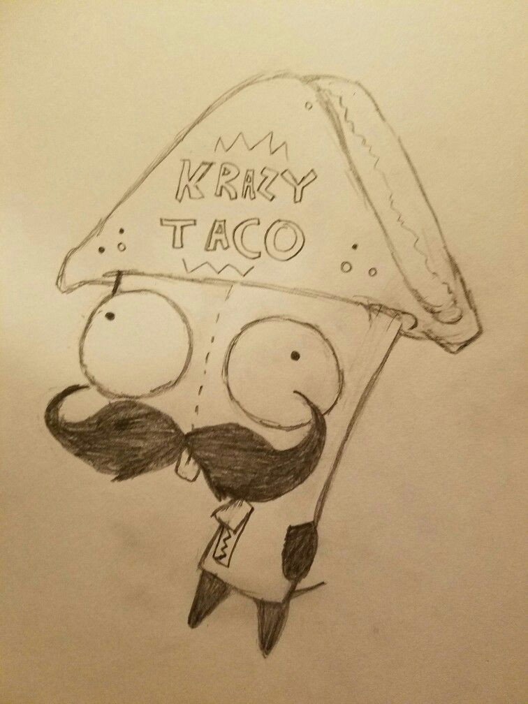 gir krazy taco rando quick sketch