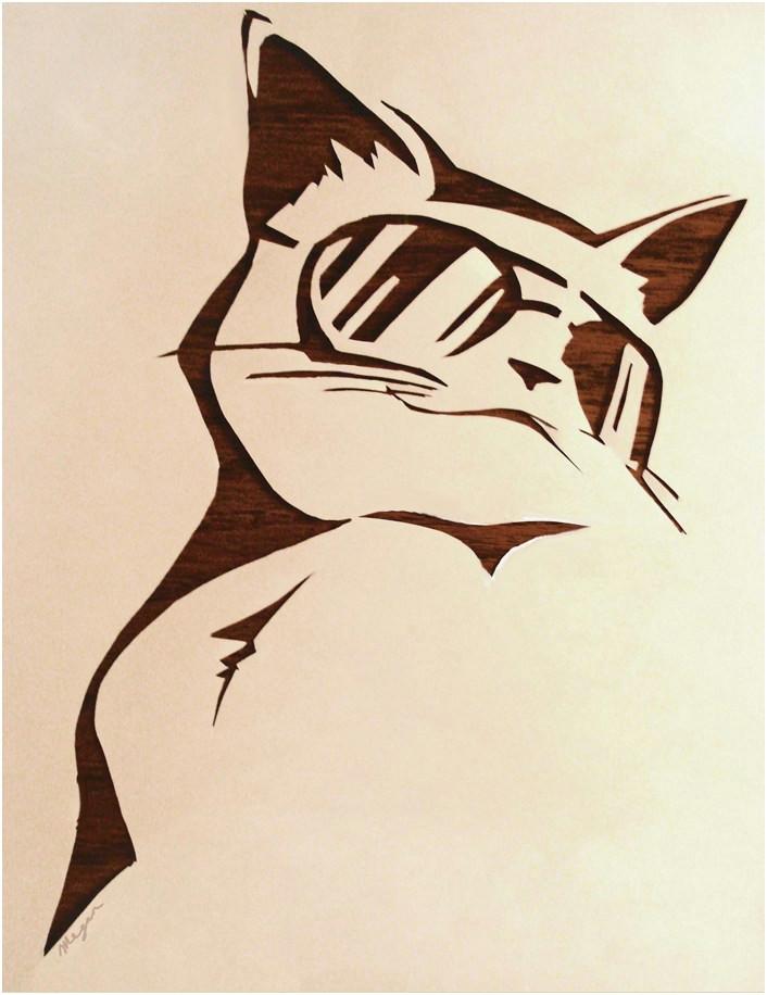 best of cat silhouette running