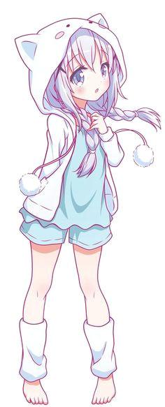 anime girls anime girl neko kawaii neko girl cute manga girl anime