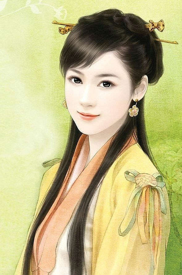 femme chinese drawings chinese artwork chinese painting art drawings portrait art