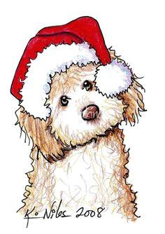 christmas paintings christmas illustration christmas ornaments christmas dog christmas animals christmas