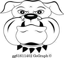 head dog cartoon