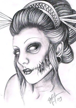 a a a a a a a a a a a a a a a a a aa a a a a geisha tattoo drawing design