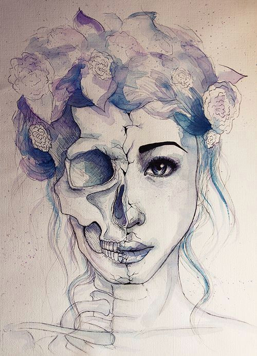 Drawing Of A Dead Girl Past Sucks Beauty Drawings Art Art Drawings