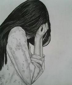 art drawing girl sad favim com 1528406 jpg