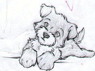 outline drawings cute drawings puppy drawings drawings of dogs hard drawings