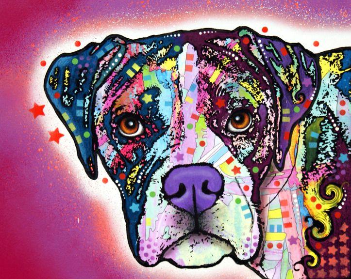the boxer print dog park publishing