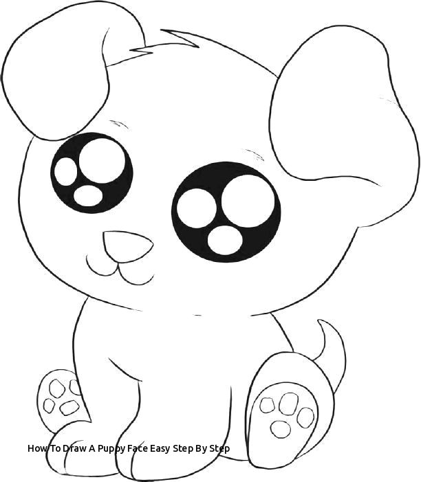 how to draw a puppy face easy step by step cute puppies coloring pages to print