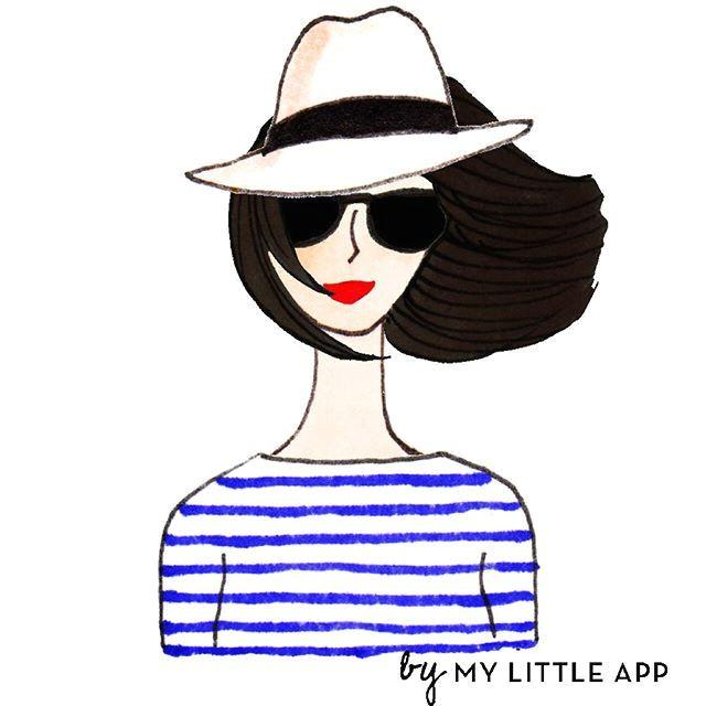 kanako illustration sketch quotes hair illustration frederique french style illustrator