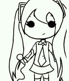 school girl full body chibi love drawings easy drawings girl drawings moon drawing
