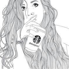 tumblr girl a tumblr girl drawing girl drawings hipster drawings tumblr sketches