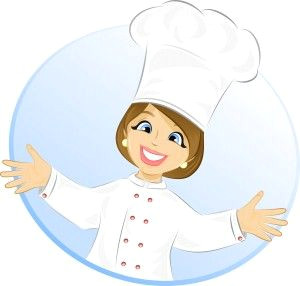 free cartoon girl chef cook vector illustration illustration gallery