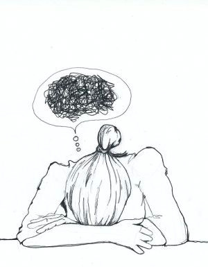 foto di fi bi i vi li illustration by andreas malicia drawings about depression depression
