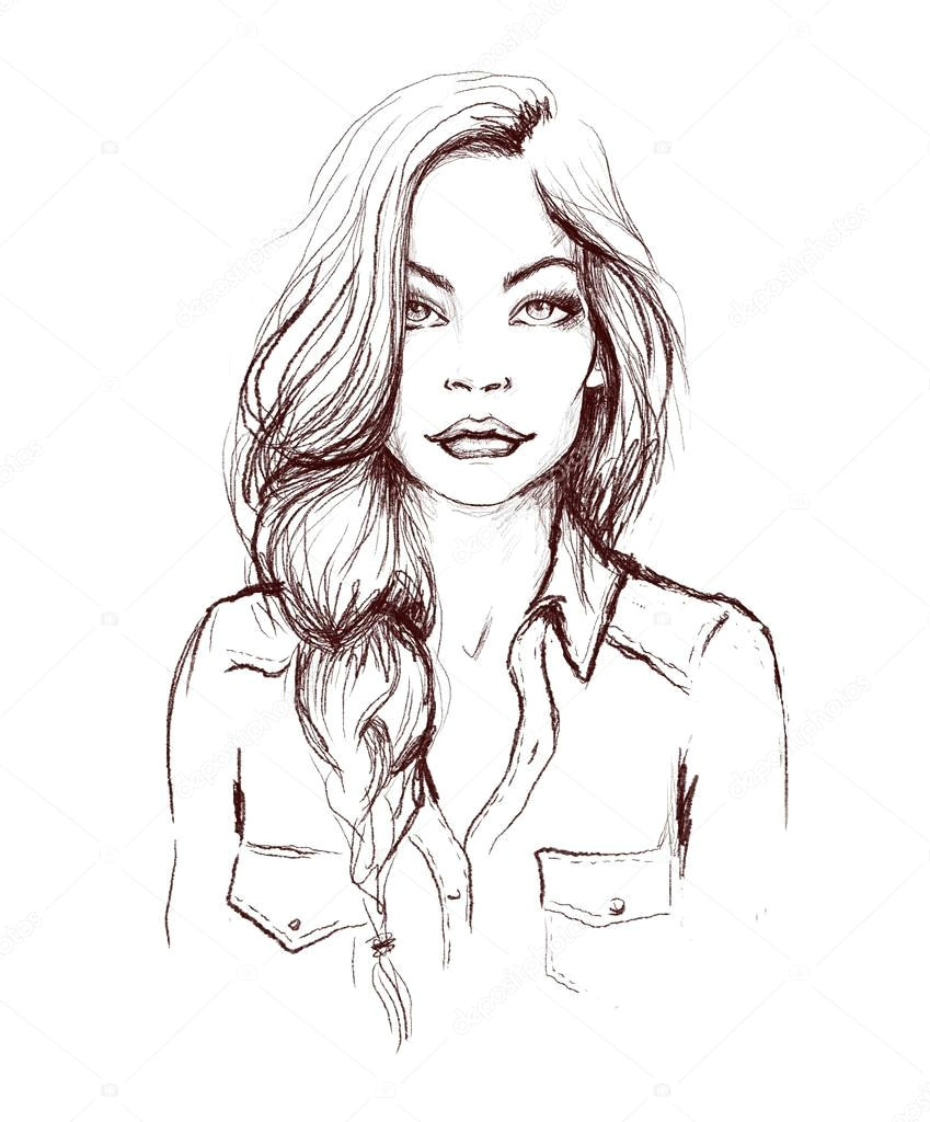 depositphotos 57713891 stock photo woman face fashion illustration jpg
