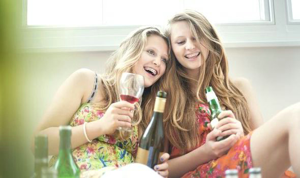 underage teenage drinking can cause problems with bone density liver function and growth