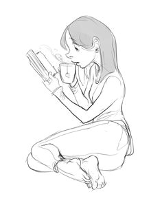 practice because i am terrible at drawing women and feet