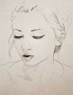 log in easy pencil drawingspencil