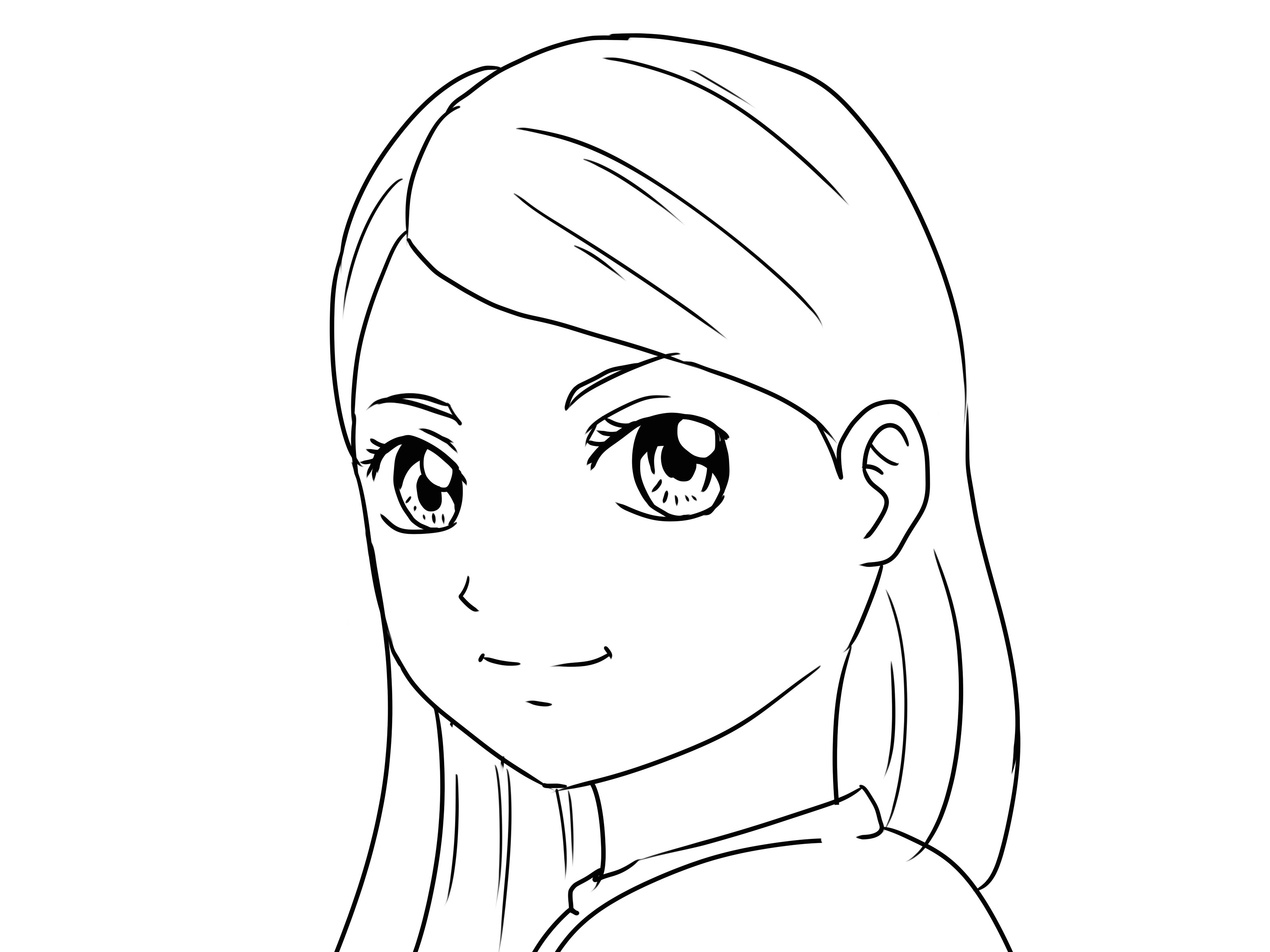 how to draw yourself as a manga girl boy 12 steps