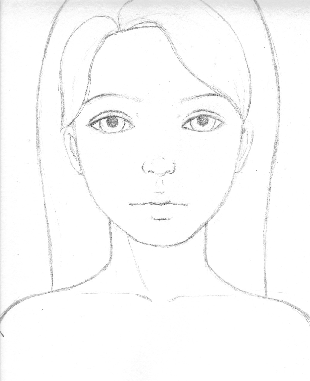 free painting tutorial how to draw a pretty face week one eyes