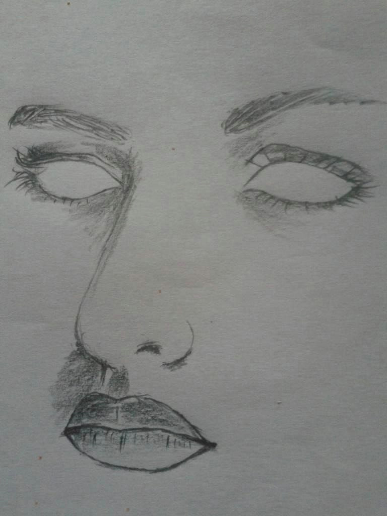 how to draw easy a female face step by step for beginners 23 steps simple and easy try now