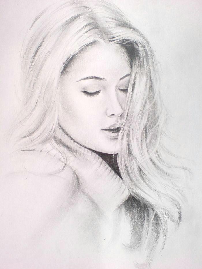 die anfangsstriche machen beautiful pencil drawings cool drawings pencil art drawings amazing drawings