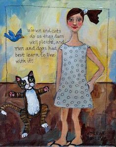 catherine darling hostetter women and cats will do as they darn well please and