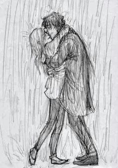 Drawing Of A Girl Hugging A Boy Guy Hugging Girl Drawing Google Search Drawing References