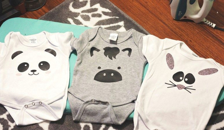 emily here to share with you five of my favorite baby onesies made with the silhouette cameoa i myself am expecting my first child in august it s a