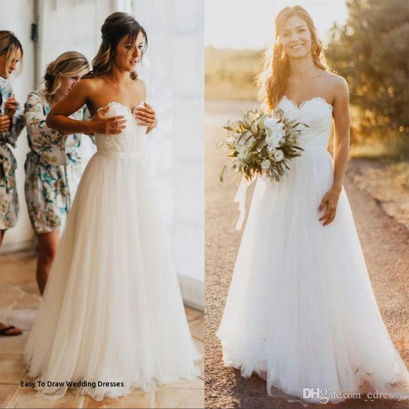 lace sweetheart wedding dresses drawing easy to draw wedding dresses i pinimg 1200x 89 0d