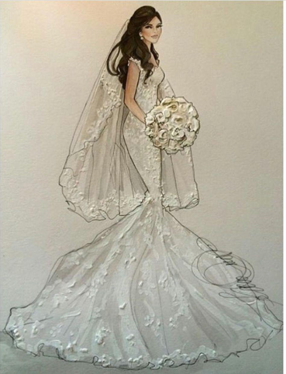 dress illustration wedding illustration fashion model sketch fashion sketches wedding dress drawings