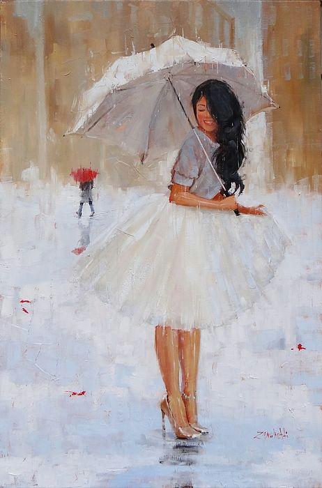 another splash painting by laura lee zanghetti umbrella painting umbrella art rain art