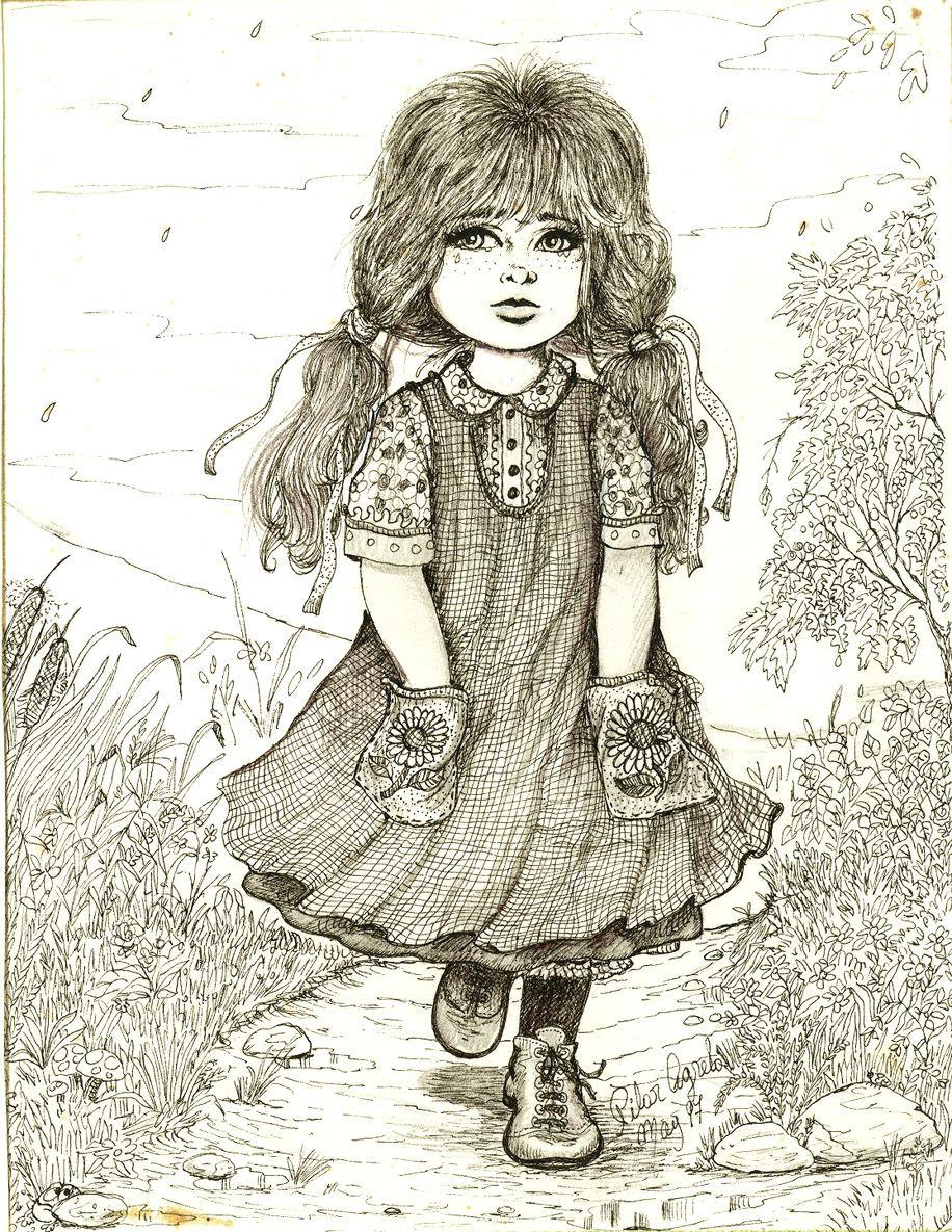 girl by pilar