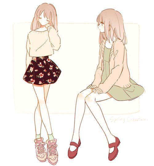 manga girls manga girl amandine drawing