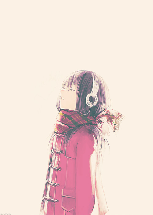 it s better to listen a music than hearing what people say to you the important thing is to be your self and be confident just who yu are