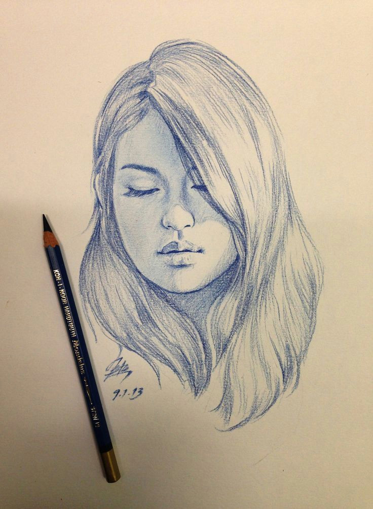 girl side face drawing google search more
