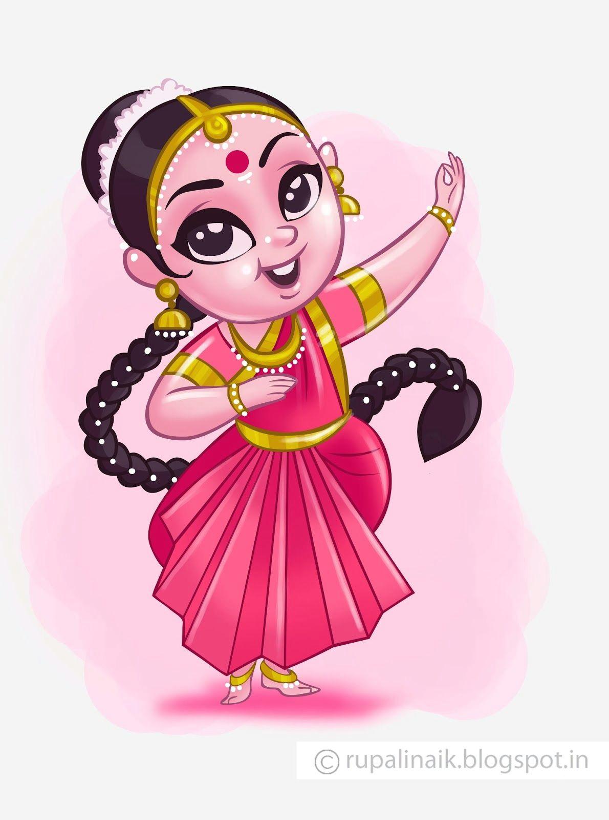 danc cute paintings madhubani painting india art rangoli designs cute drawings