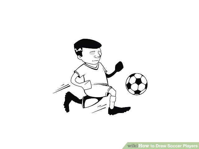 image titled draw football players step 4