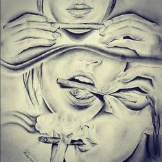 girl girls high joint love marijuana pot red sexy smoke girl smoking